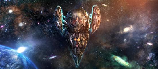 Le vaisseau spatial la Goetia